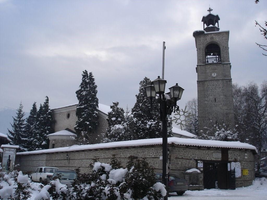 Церковь Святой Троицы в Банско, 1835