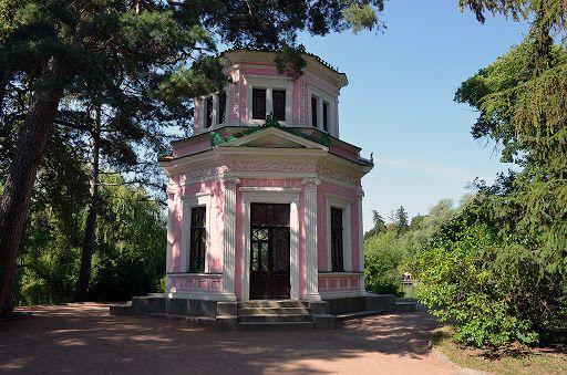 Розовый павильон на острове Любви - «Софиевка»