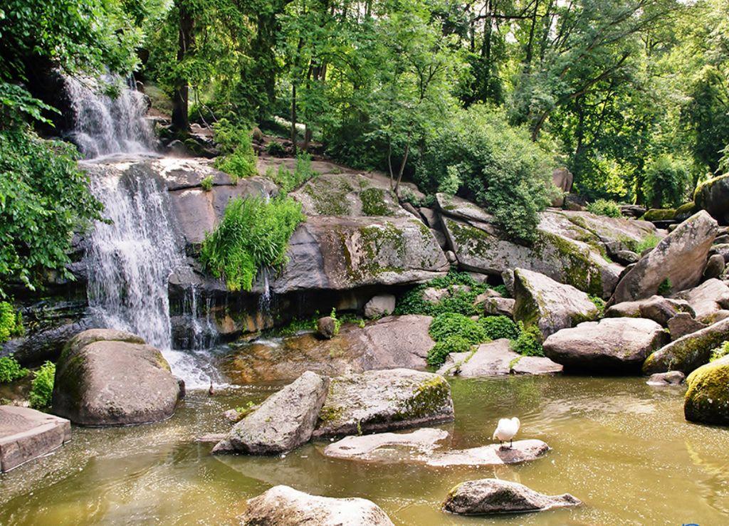 Парк Софиевка, Умань - водопад
