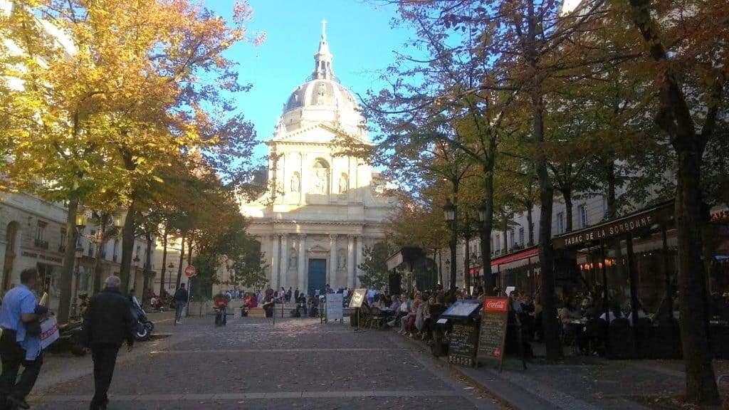 Сорбонна (la Sorbonne), Париж - интересные достопримечательности