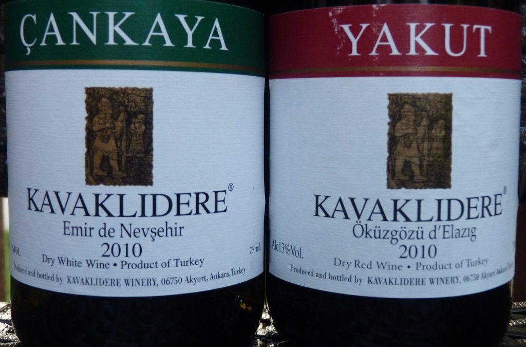 Вино из Турции «Kavaklidere»