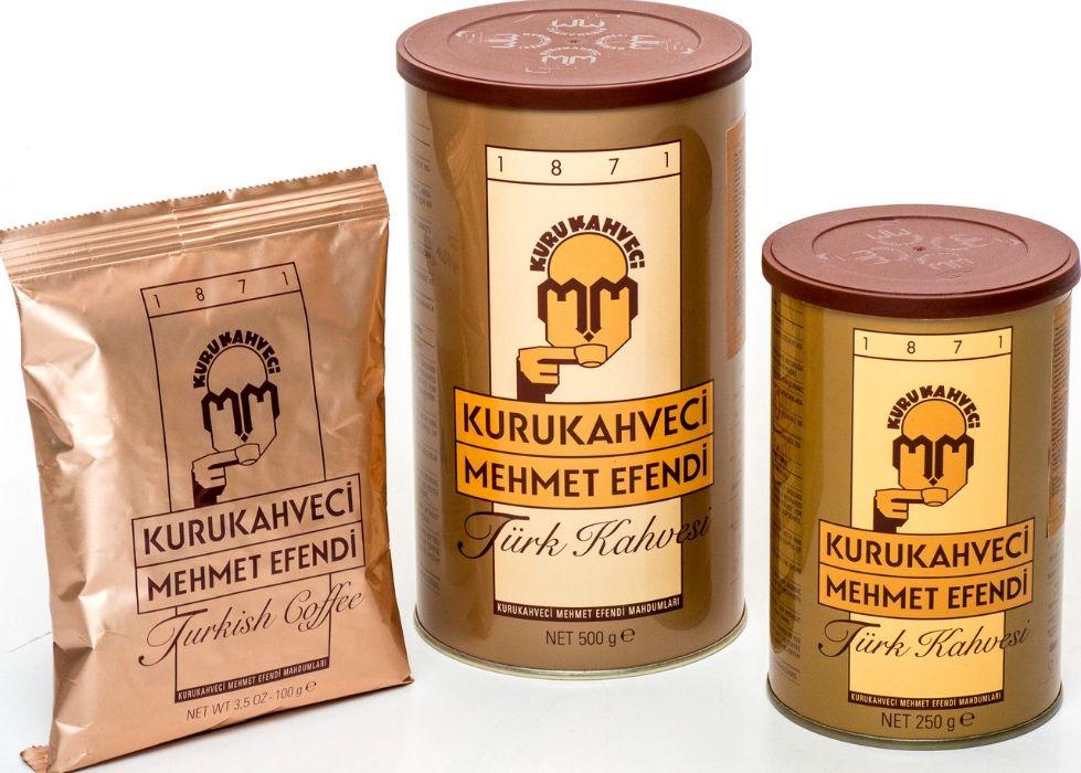 Турецкий кофе Mehmet Efendi - турецкие подарки и сувениры
