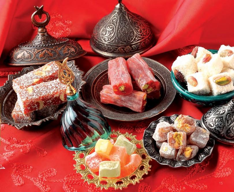 Лукум - турецкие сувениры и подарки
