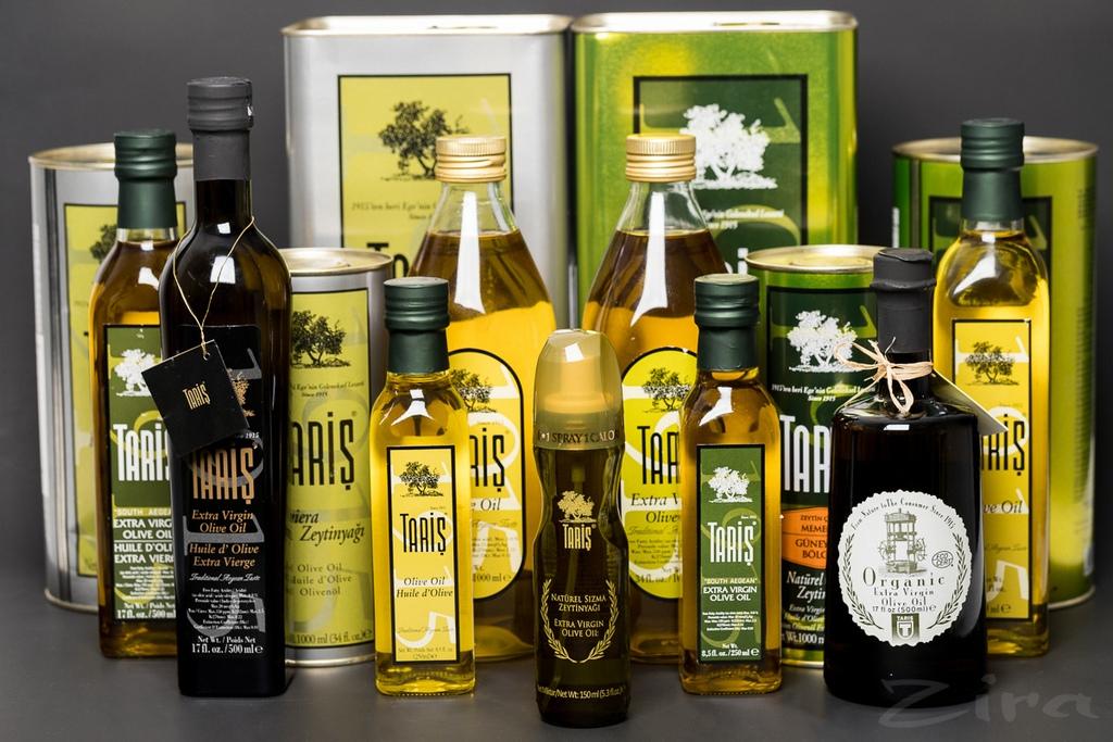 Оливковое масло в Турции