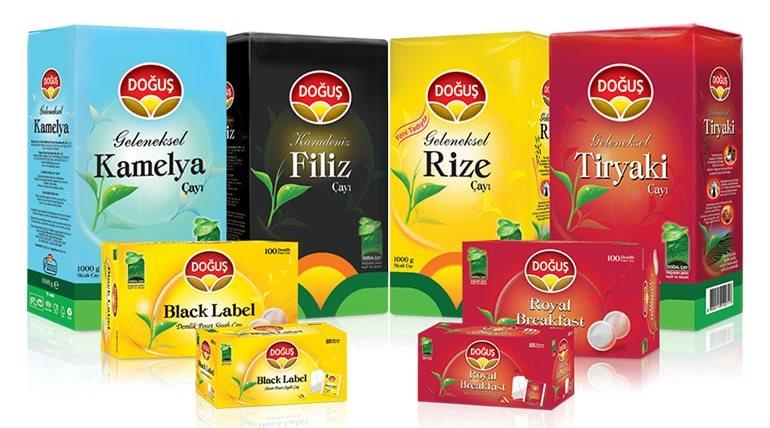 Турецкий чай - Doğuş - турецкие подарки и сувениры