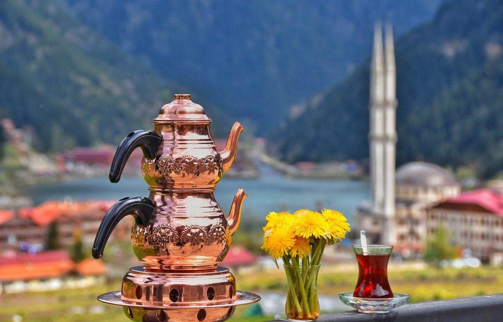 Чайная пара Çaydanlik