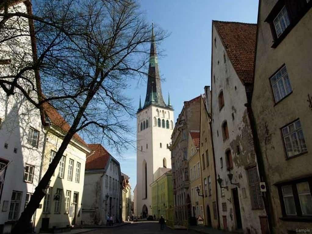 Церковь Святого Олафа в Таллине (Oleviste kirik)