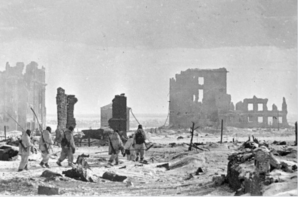 2 февраля 1943, Центр города Сталинграда, Сталинград героический город