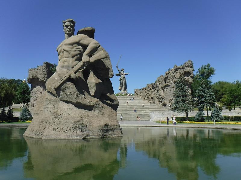 Мамаев курган Сталинград