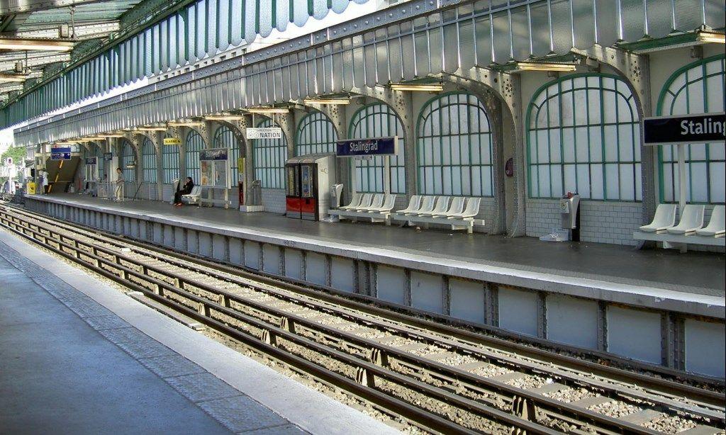 Станция метро «Сталинград» (Stalingrad), Париж
