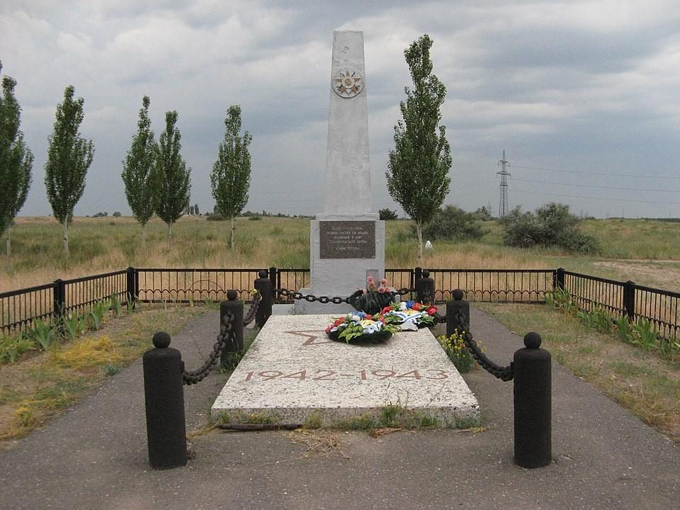 Братская могила на Лысой горе, Сталинград героический город