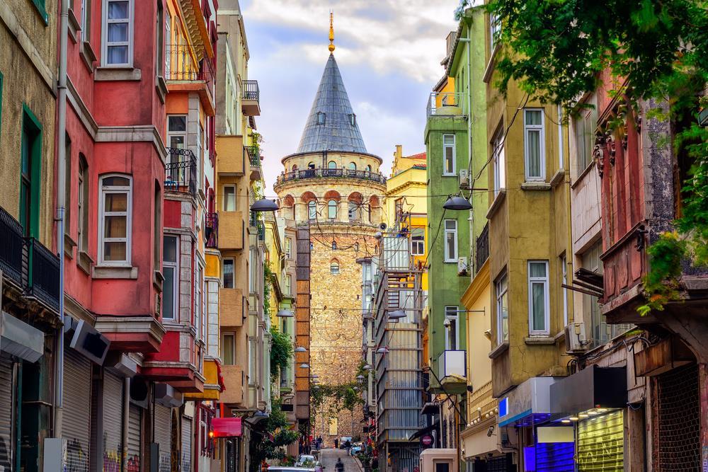 Стамбул, Турция- Галатская башня