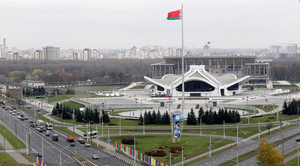 Площадь Государственного флага (Плошча Дзяржаўнага Сцяга)