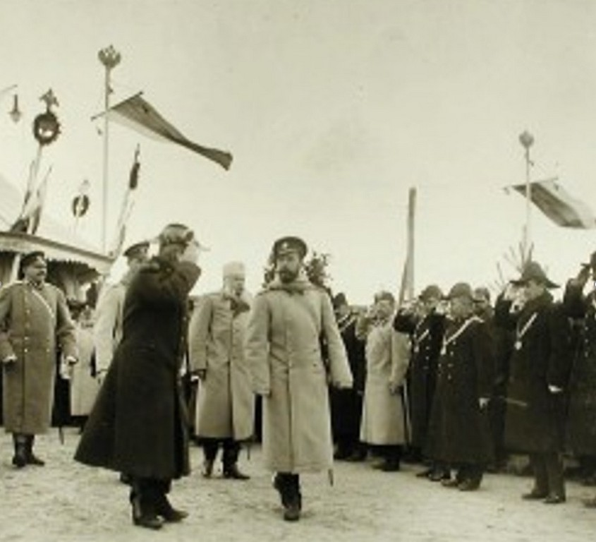 Визит царя Николая II в Жмеринку в 1904 году