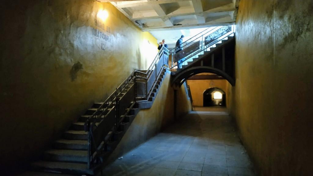 Переход (тоннель ) на ЖД вокзале в Жмеринке