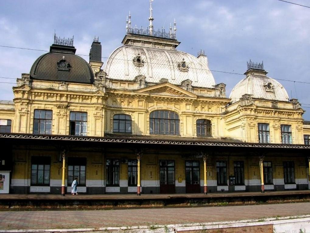 Здание железнодорожного вокзала, Жмеринка (Винницкая область)