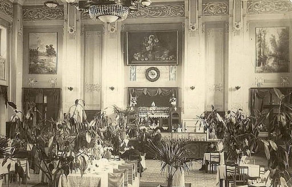 Знаменитый ресторан на вокзале в Жмеринке - старое фото