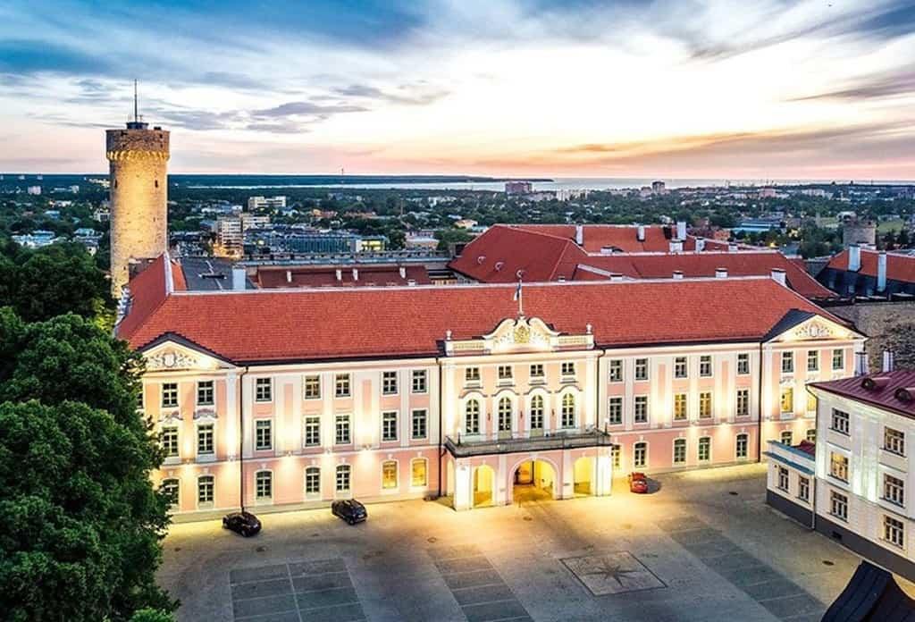Дом Стенбока (Stenbocki maja) Таллин (Эстония)
