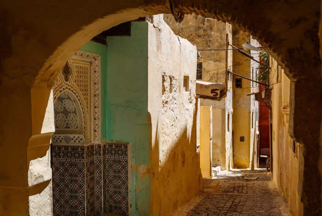Улочки страрого города Мекнес