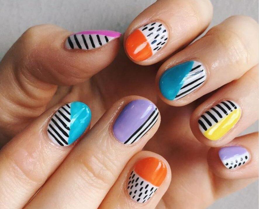 Сочные цвета лета - летние ногти