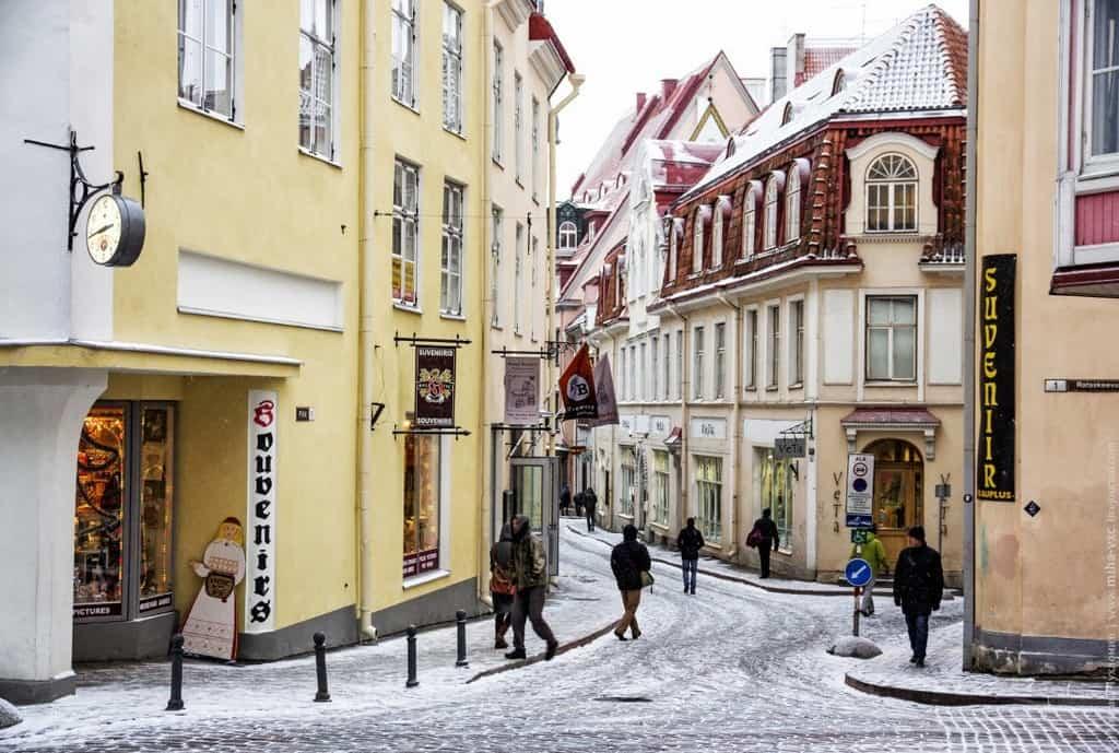 Таллин (Tallinn) – улочки столицы Таллин (Эстония)