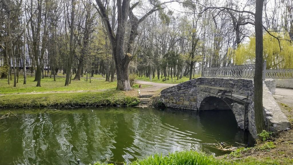 Мост в дворцовом парке, Браилов