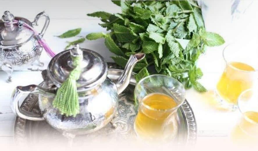 Марокканский мятный чай  Марокко