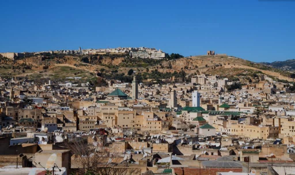 Старая часть Феса Марокко
