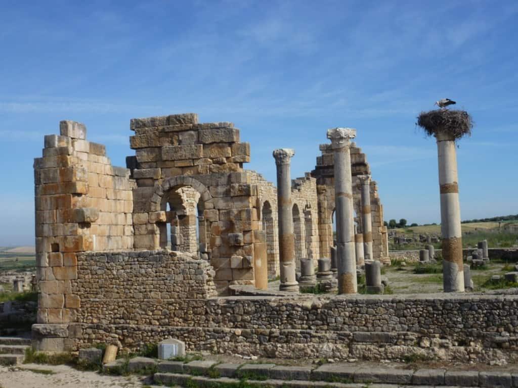 Руины античного Волюбилиса