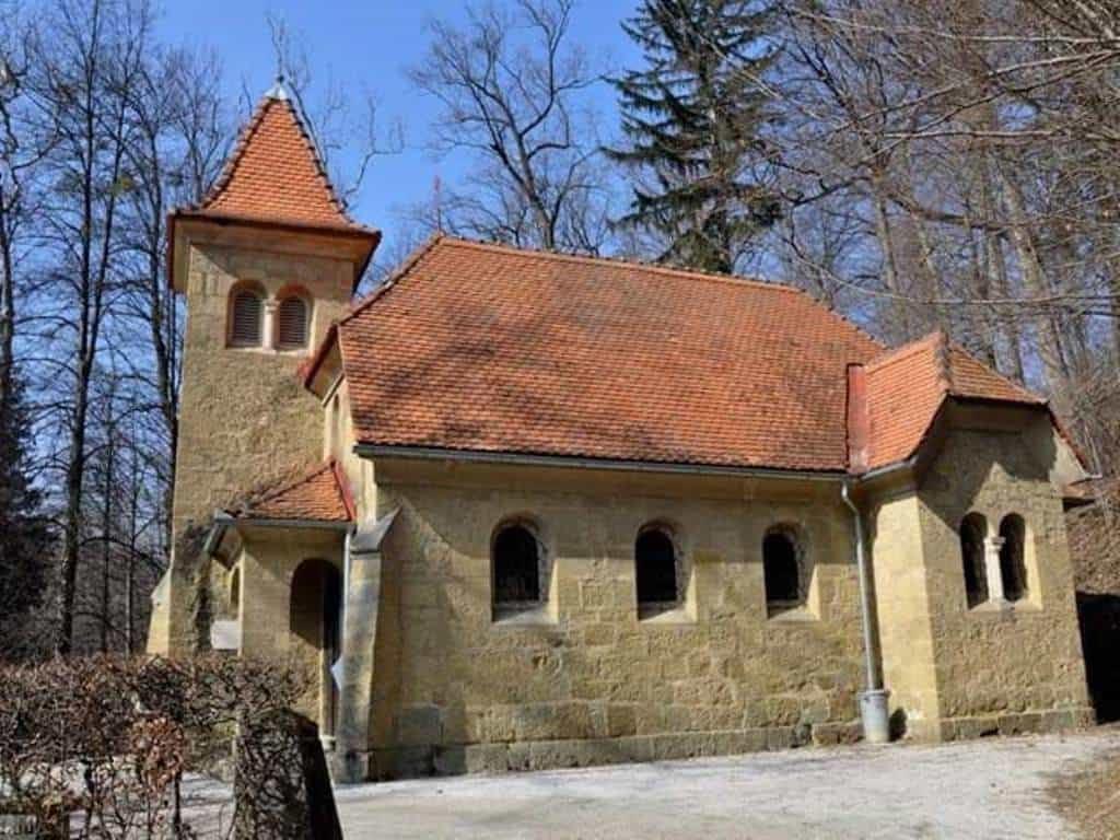 Курортная часовня посвящена св. Ане, защитнице курорта