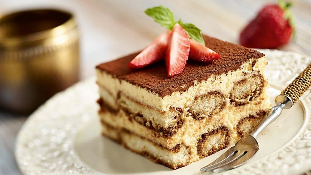 Десерт Тирамису итальянские блюда