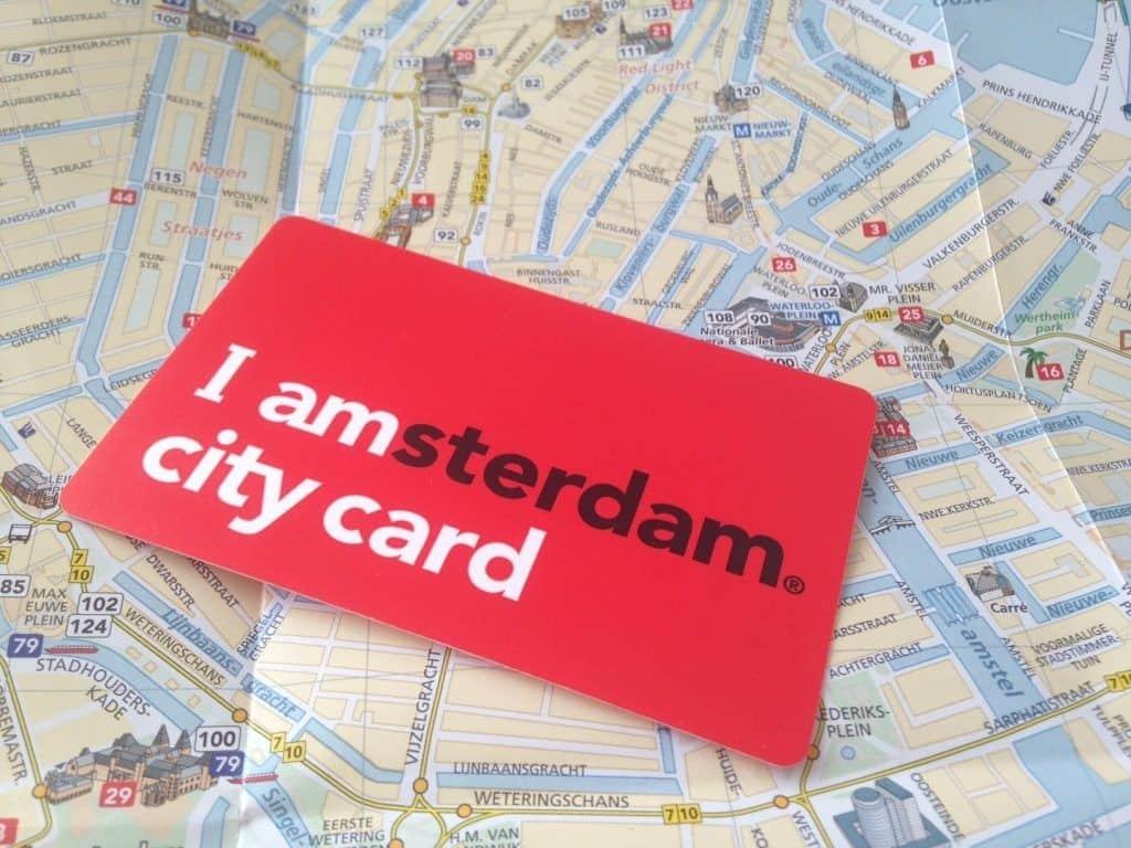 Туристическая карта I amsterdam