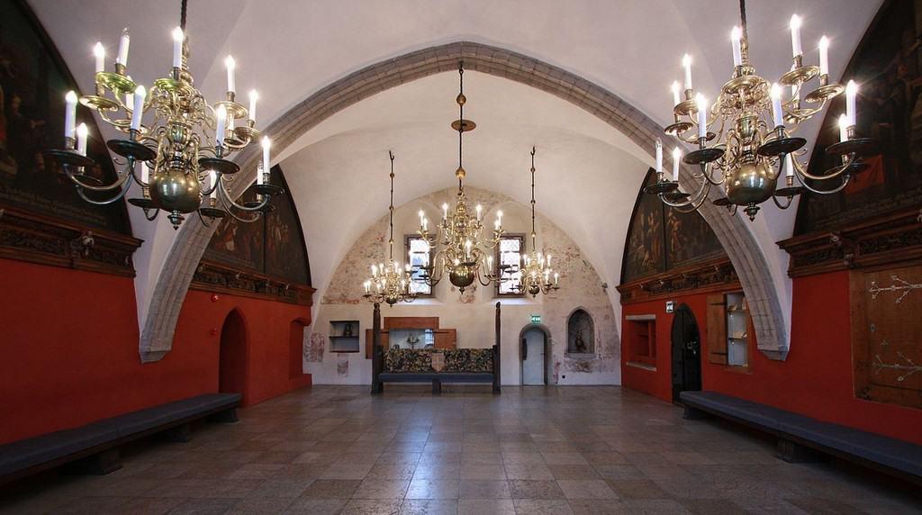 Зал магистрата ратуши, Таллин (Эстония)