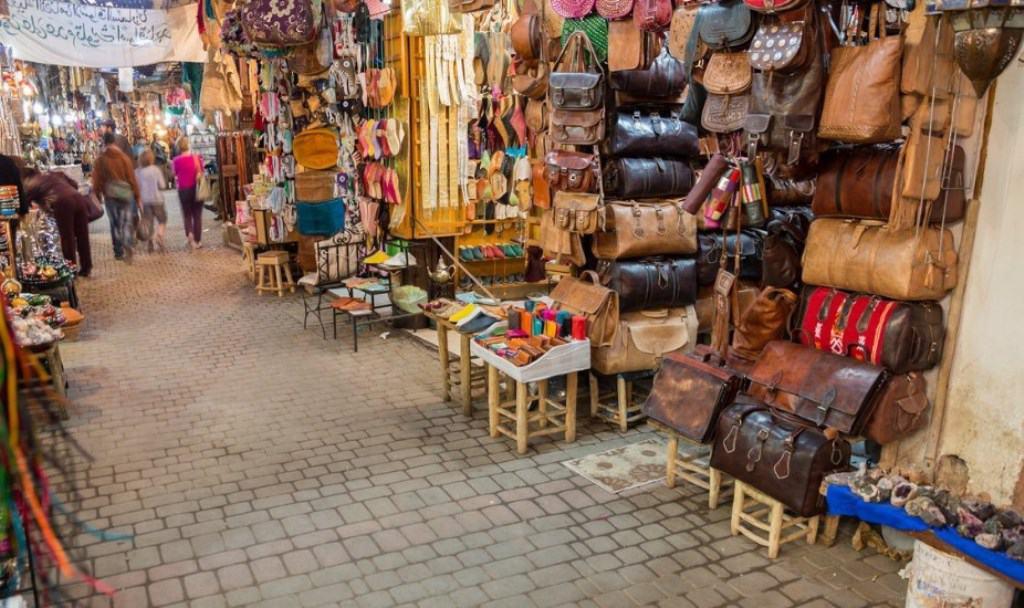Торговые лавки в Медине