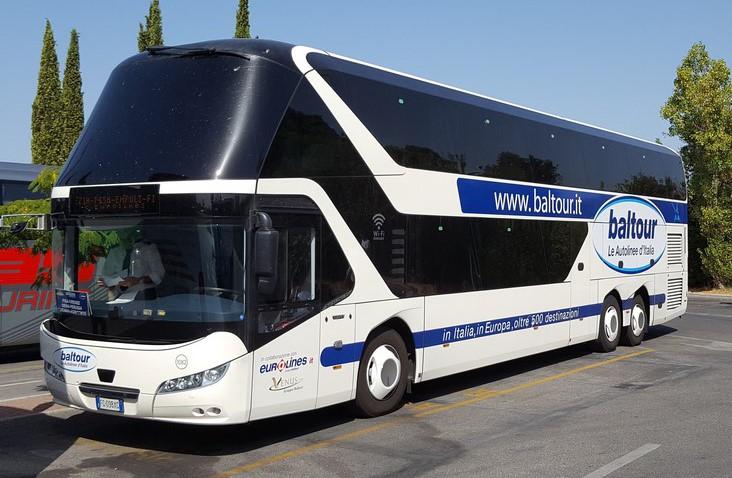 Автобусная компания в Италии - Baltour