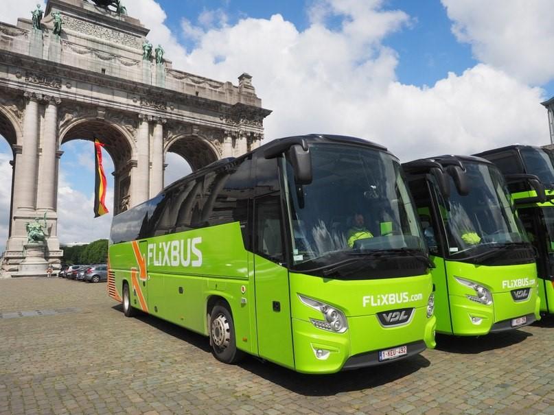 FlixBus является ведущей автобусной компанией в Германии