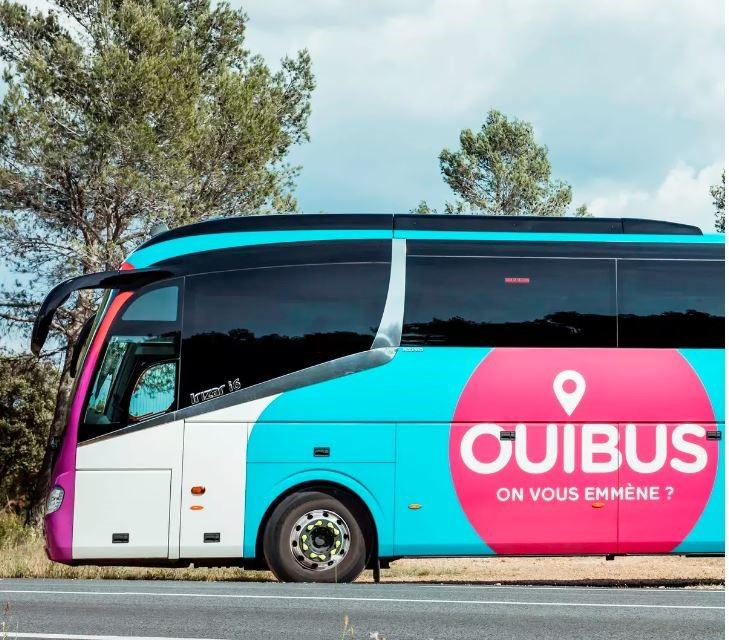 Ouibus - автобусная компания во Франции