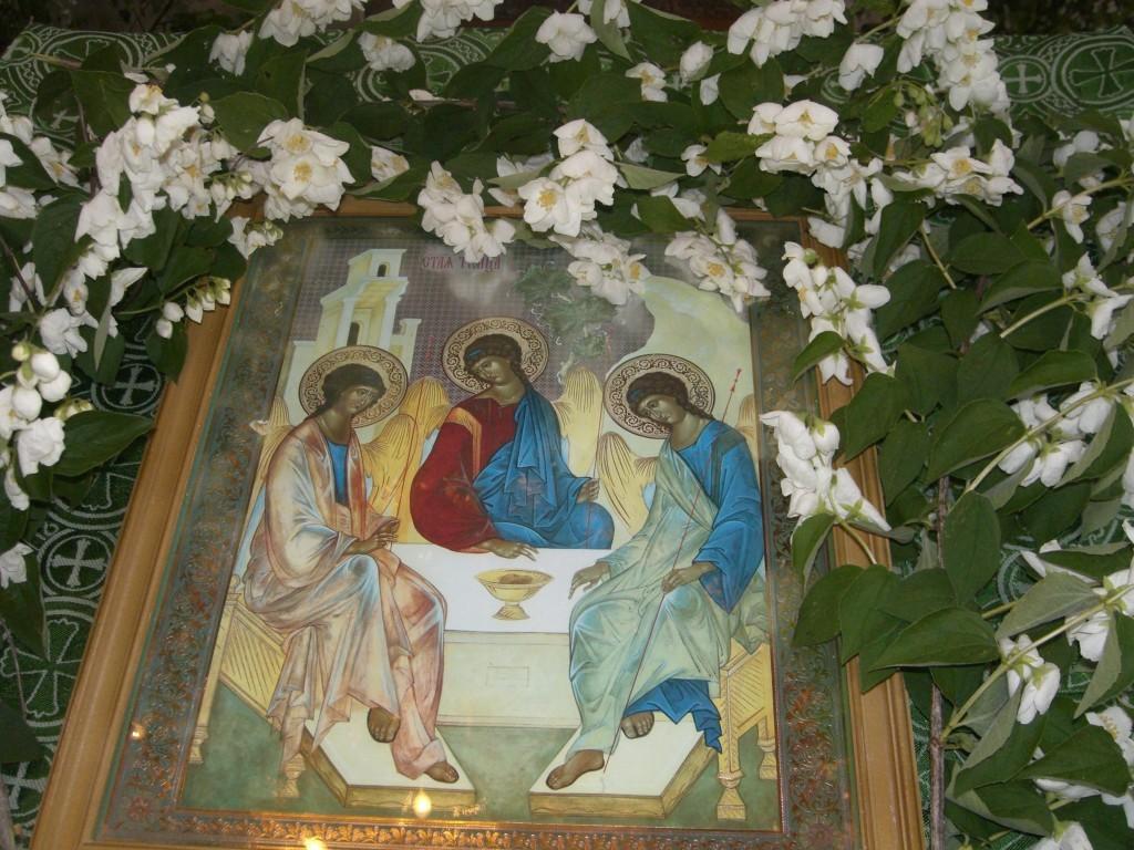 Икона Святой Троицы - Троица 2021