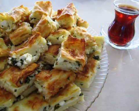 Turkish Water Borek / Su Böreği   Quick and Tasty Food