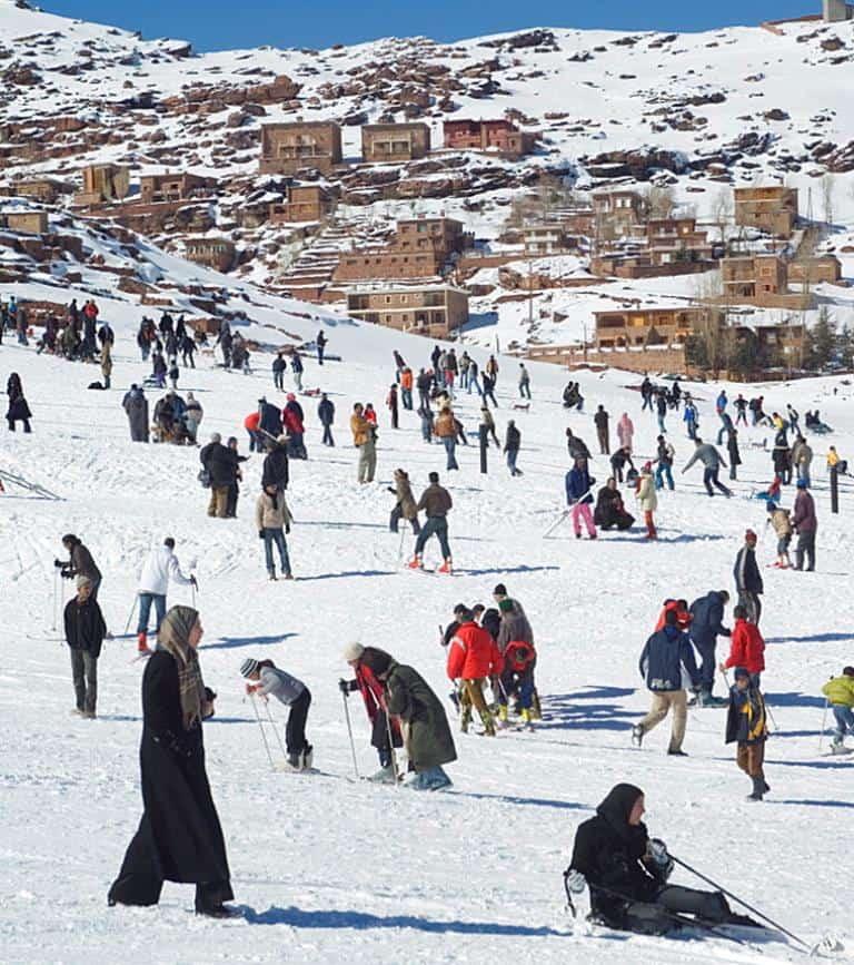 Укаймеден – горнолыжный курорт в Марокко