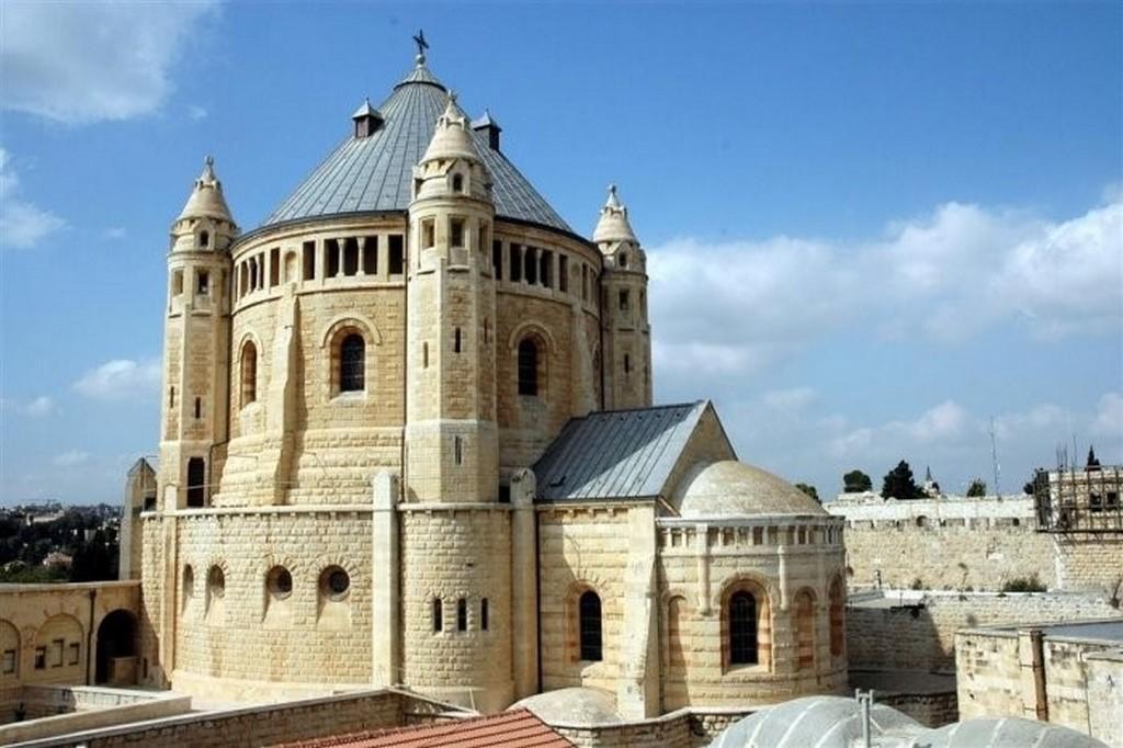 Храм Успения Пресвятой Богородицы, Иерусалим, Священная гора Сион