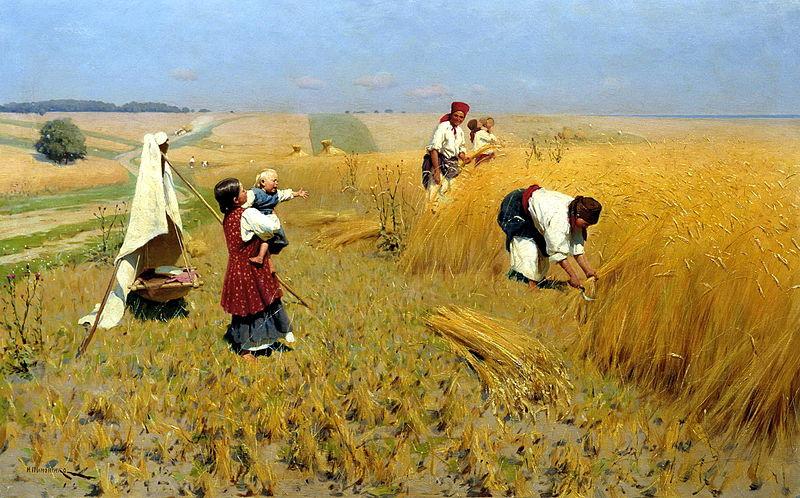 «Жатва на Украине», (1896)