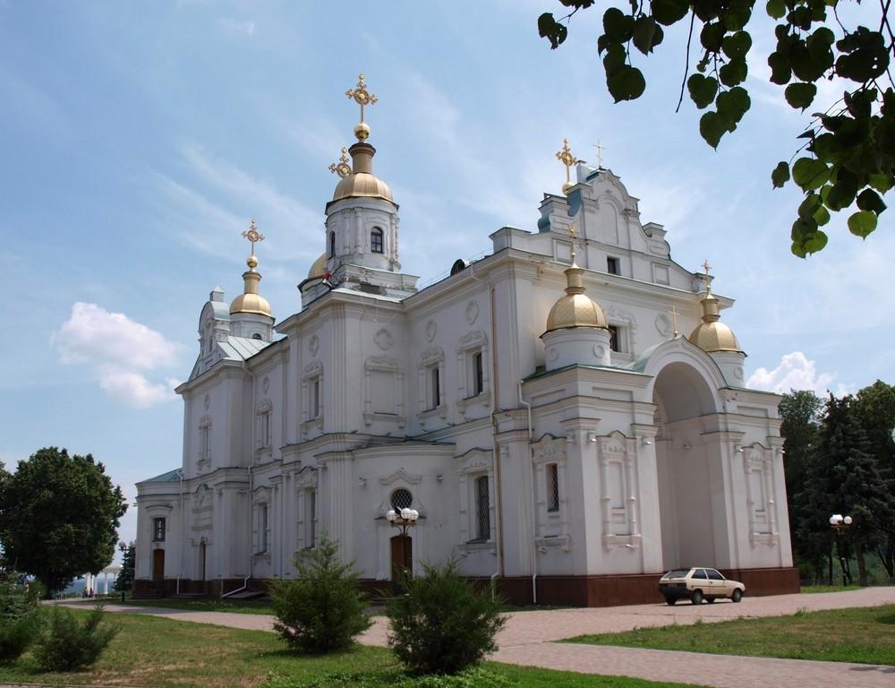 Свято-Успенский собор — главный храм Полтавы (1748 - 1770 год), Украина