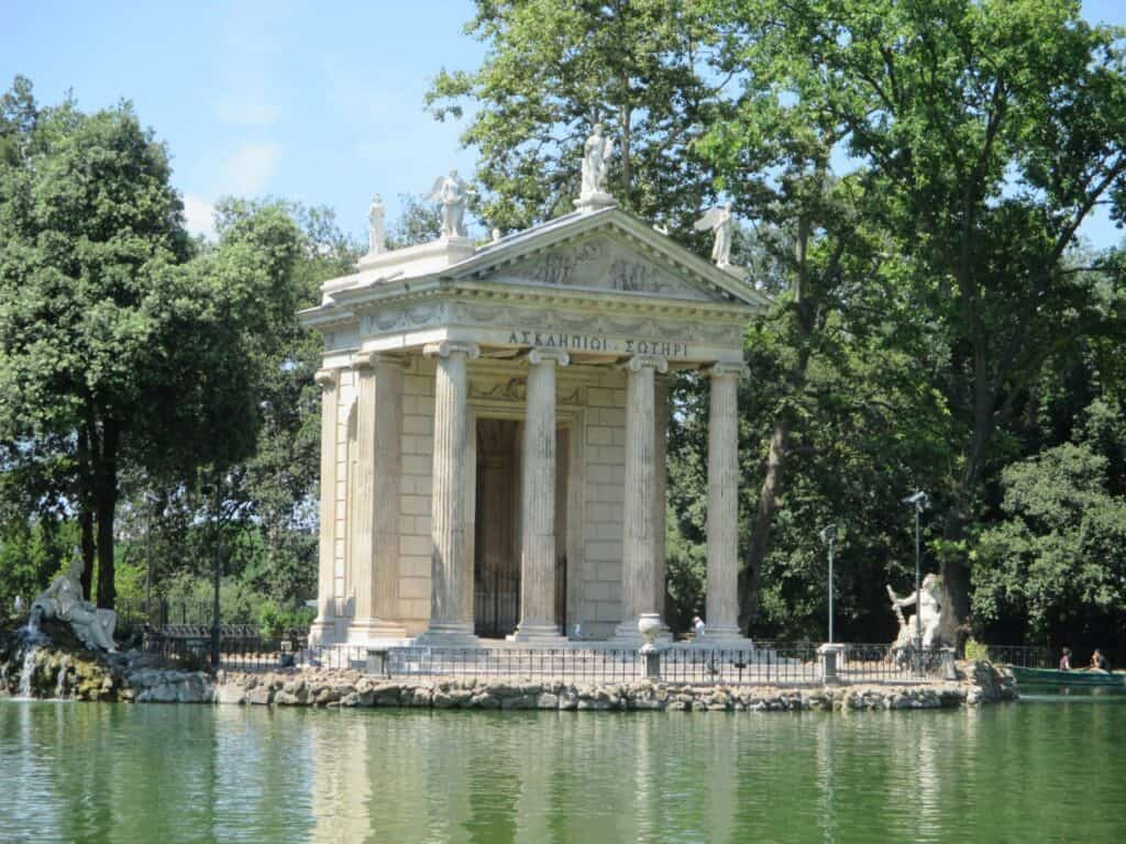 Вилла Боргезе (Villa Borghese)