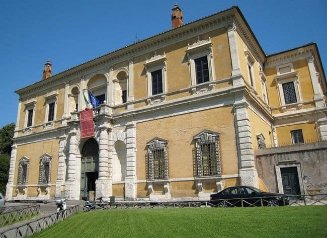 Национальный музей вилла Джулия, Рим Villa Giulia