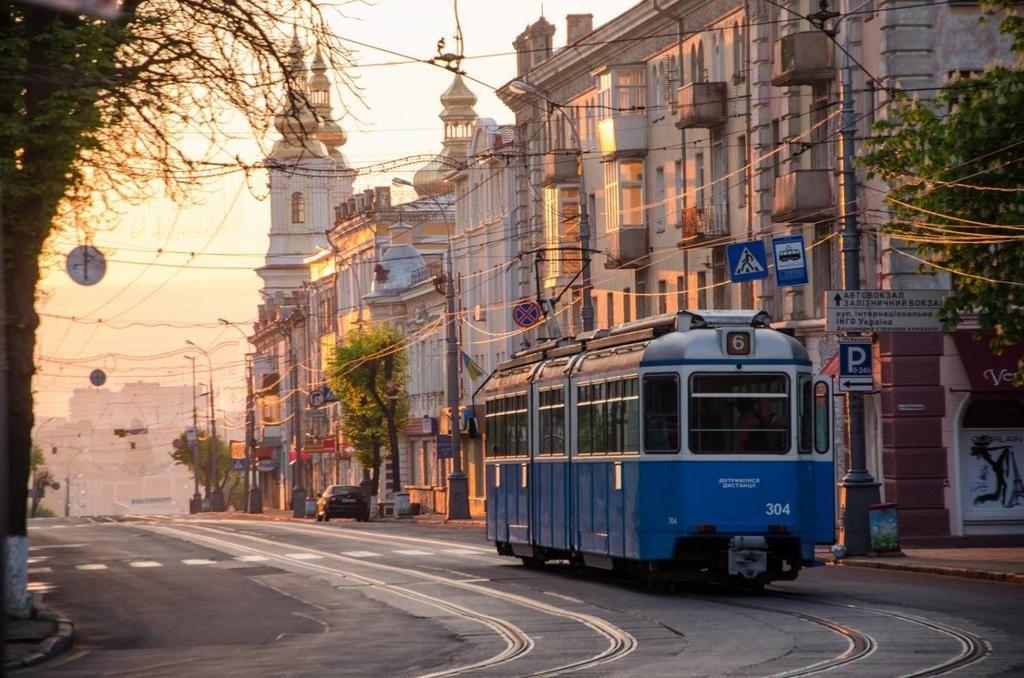 Центральная улица Винницы - Соборная