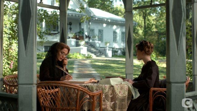 Беседка перед домом Н.И. Пирогова – кадр из фильма «Крепостная»