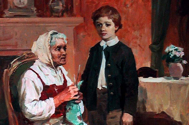 Пирогов в детстве