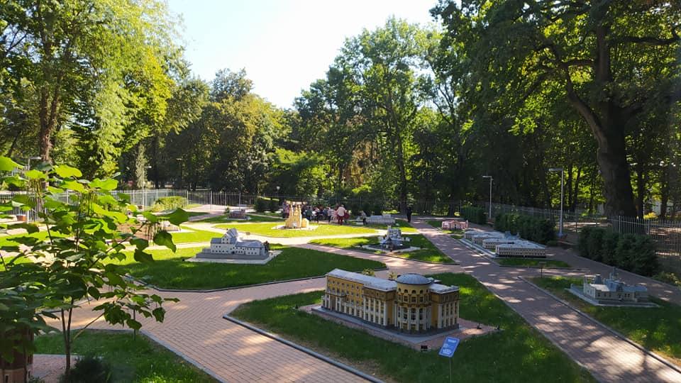Достопримечательность – «Мини-Винница» в парке Горького