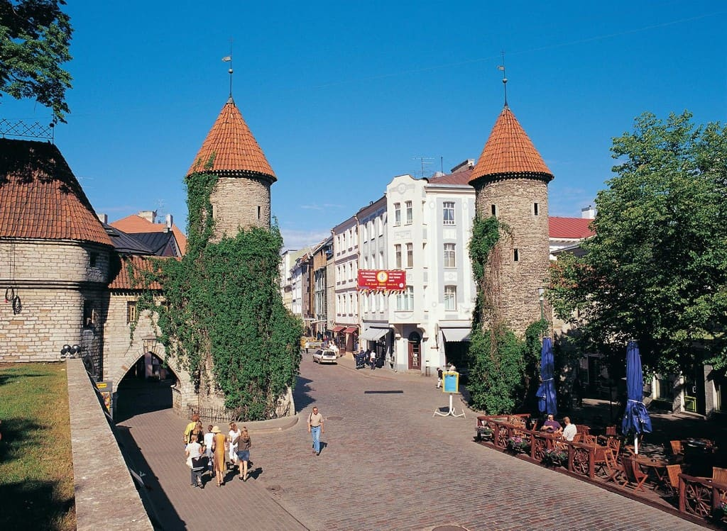Улица Виру (Viru tänav) — Вируские ворота